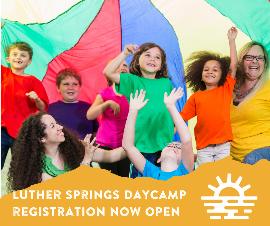 Luther Springs Daycamp Registration Open